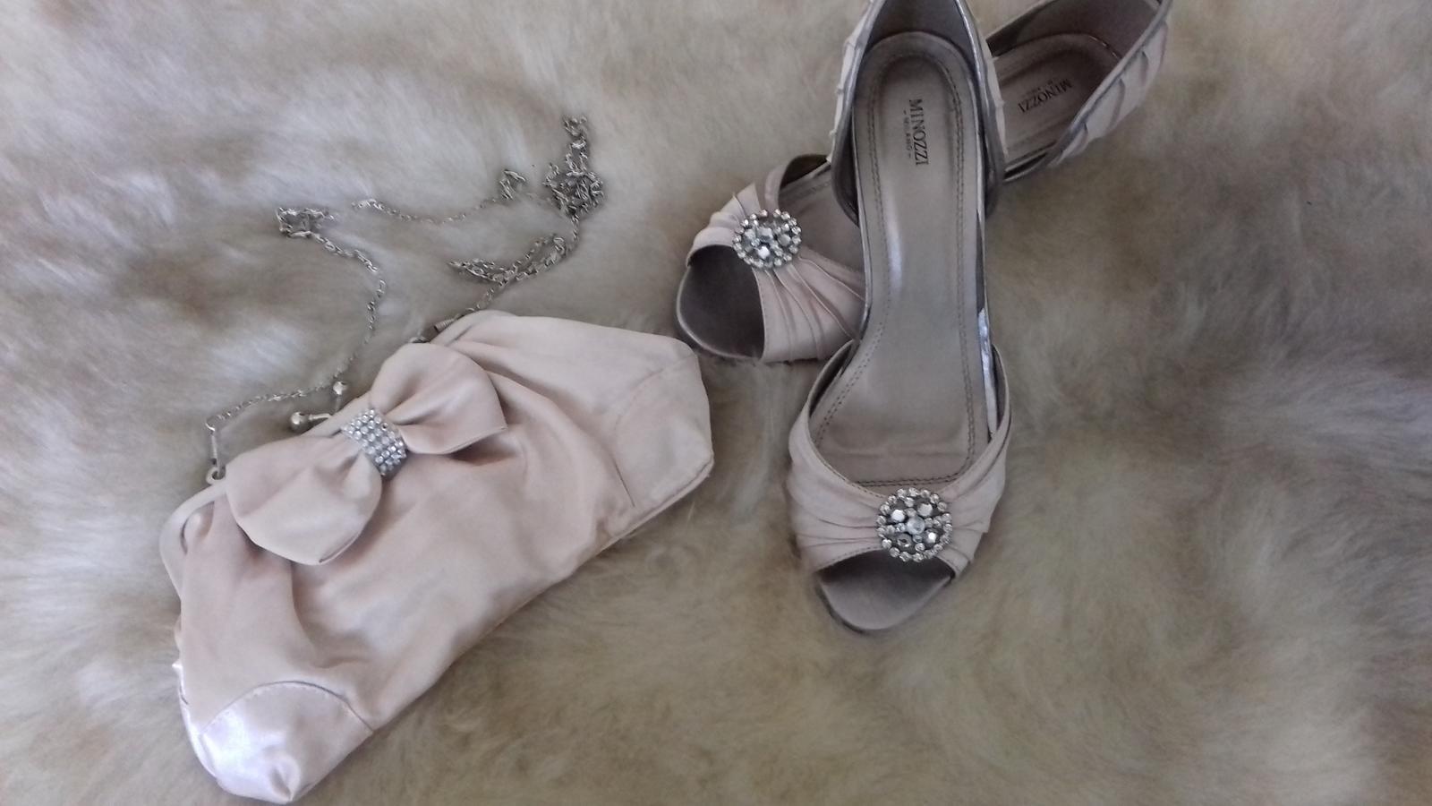 Spoločenská obuv s kabelkou - Obrázok č. 1