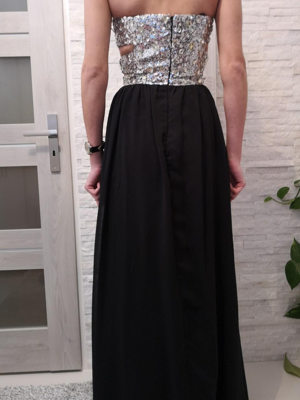 Spoločenské šaty veľ.XS - Obrázok č. 2