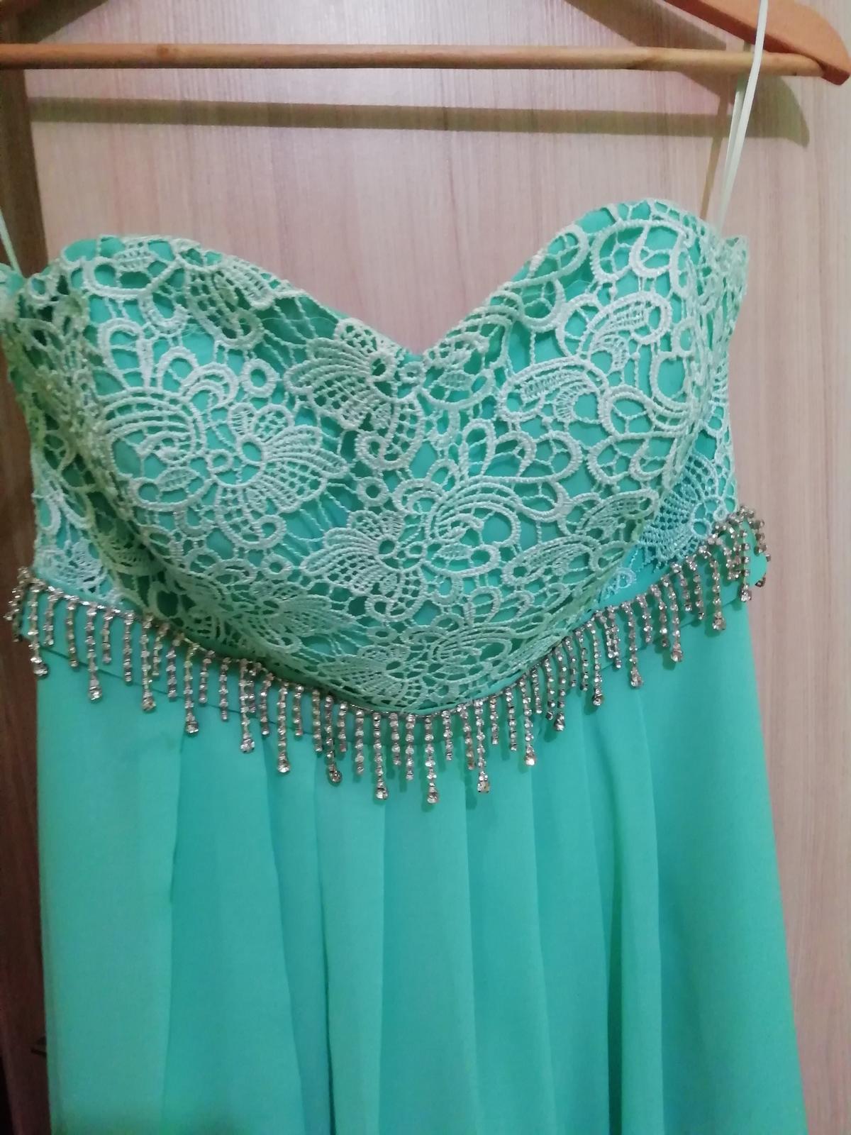 Mentolove šaty  - Obrázok č. 4