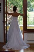 Svatební šaty 36-38vel SLEVA, 36