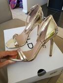 Zlaté sandálky ALDO, 37