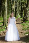 svatební šaty vel. 40, 46