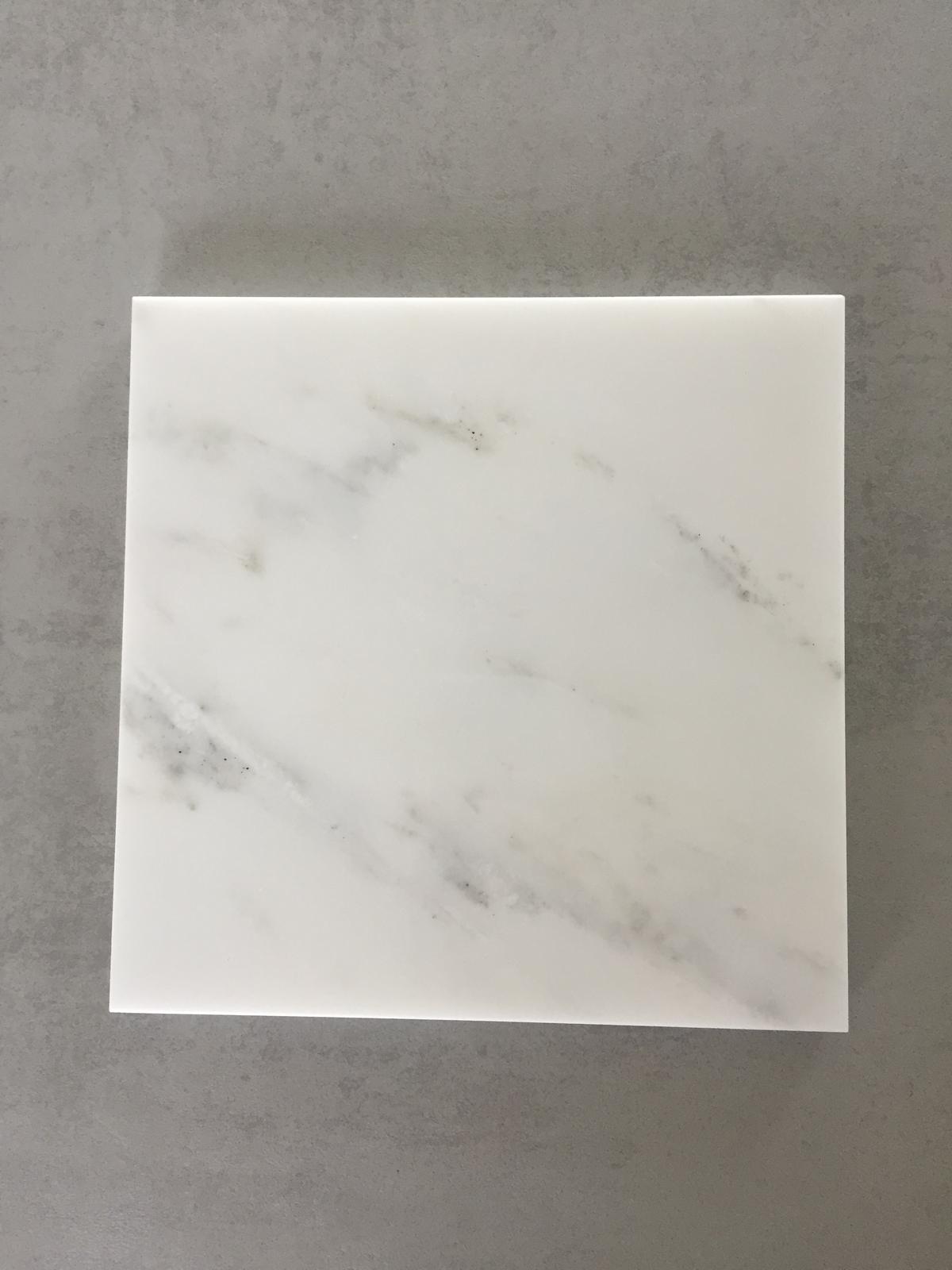 Servírovací tác Marble White 20x20cm - Obrázok č. 1
