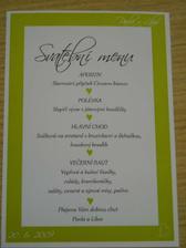 Naše menu...a spoustu se tam nevešlo
