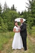 Svatební šaty pro plnoštíhlou nevěstu, 44