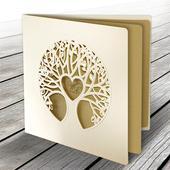 Svadobné oznámenie Strom,
