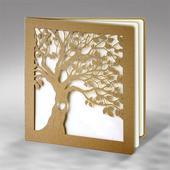 Svadobné oznámenia Strom so srdcom,