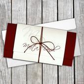 Svadobné oznámenia Dopis,