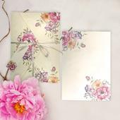 Svadobné oznámenia Flowers,