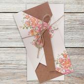 Svadobné oznámenia Kvety II,
