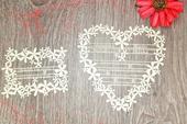 Svadobné oznámenia Srdce,