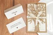 Svadobné oznámenie Strom II,