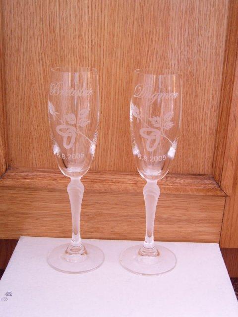 Moje přípravy - naše skleničky
