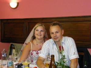 nevěsta s tatkou