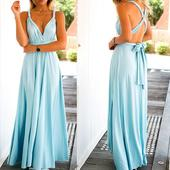 Multiway šaty S - nebeská modř , 34