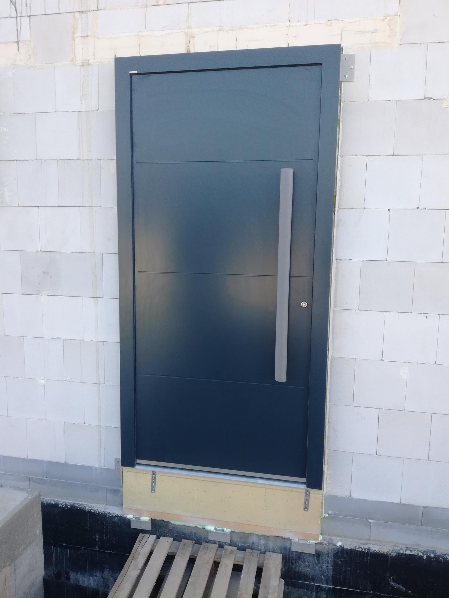 Pasiv Svépomocí 2020 - Dveře: Internorm AT400
