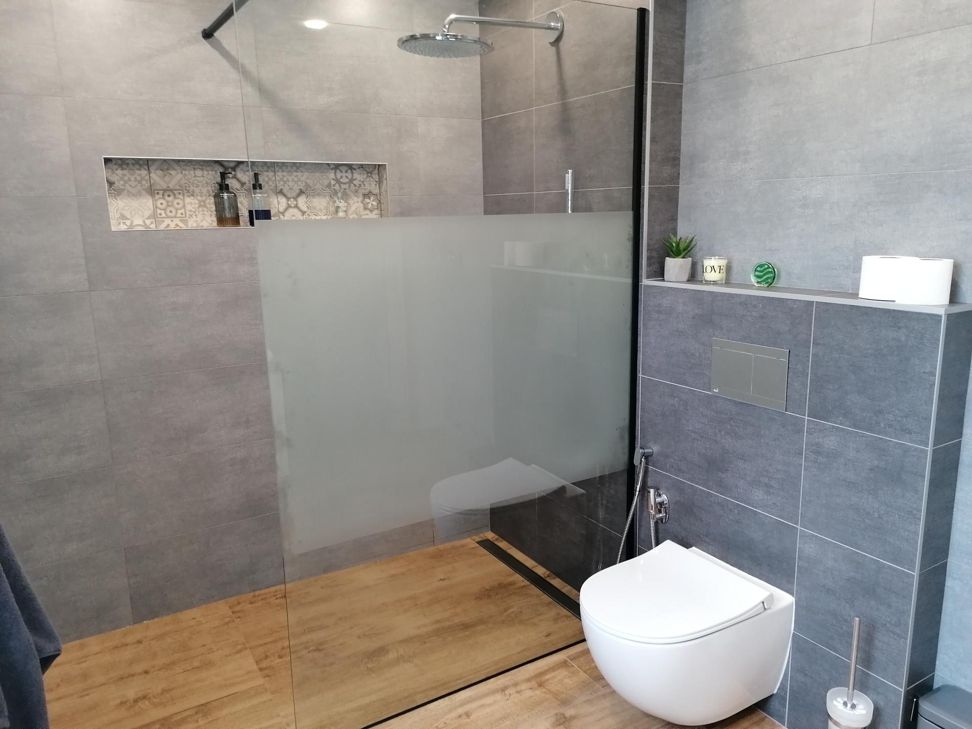 Pasiv Svépomocí 2021 - koupelna v přízemí - hotovo