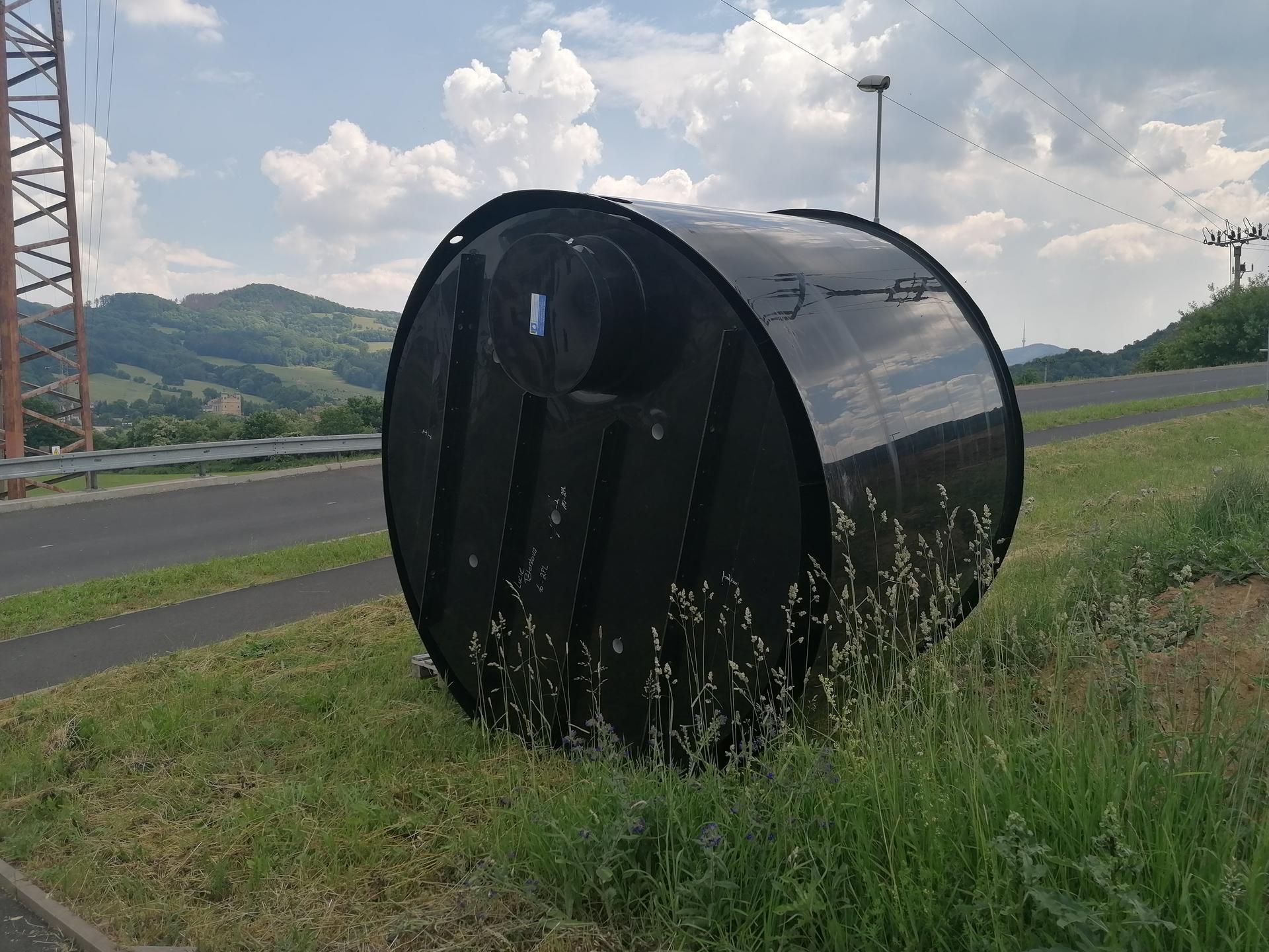 Pasiv Svépomocí 2021 - nádrž na dešťovku - 10m3, dvouplášťová