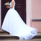 svatební šaty  - vel 34/36, 34