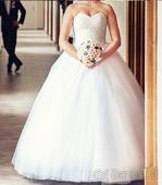 Princeznovské šaty s korzetem- univerzální vel., 38