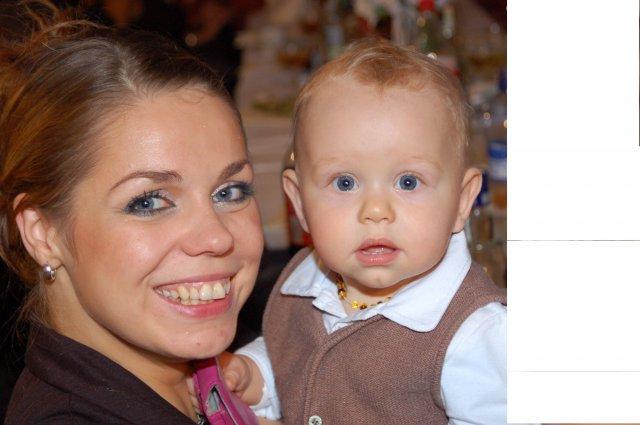 Miška{{_AND_}}Miňko - najmladší hosť LUCA,ten bol smejko:):):)