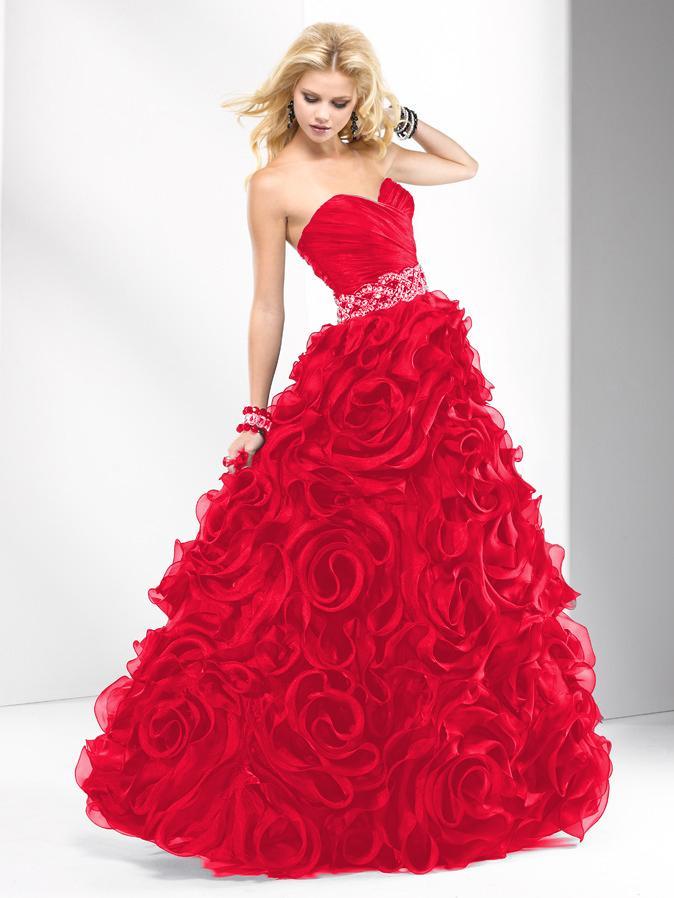 Popolnočné šaty Flirt SCARLET - Obrázok č. 1