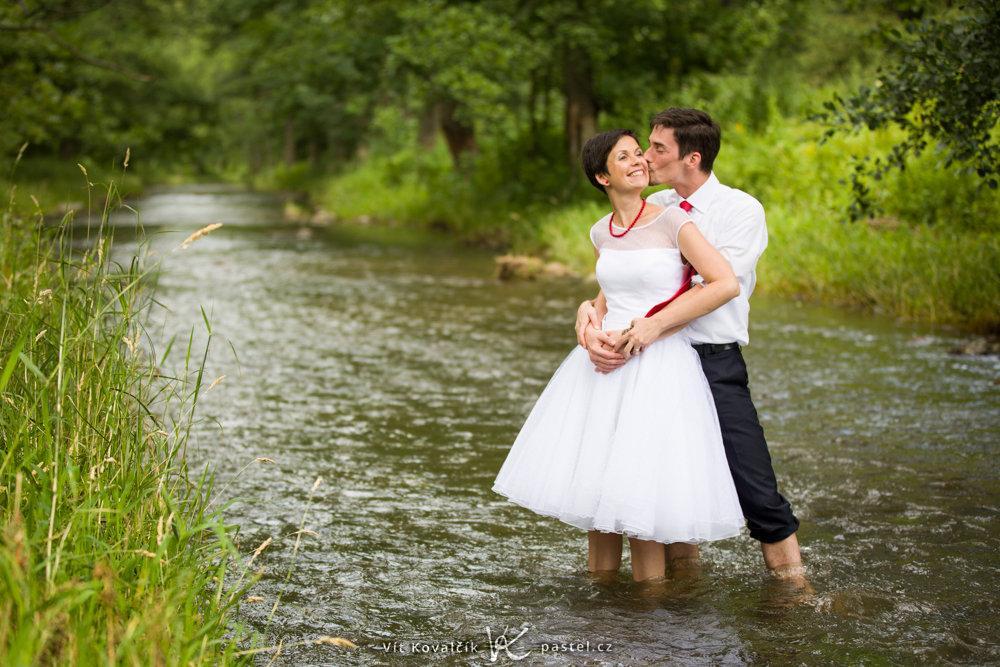 Přírodní svatba - námět na focení