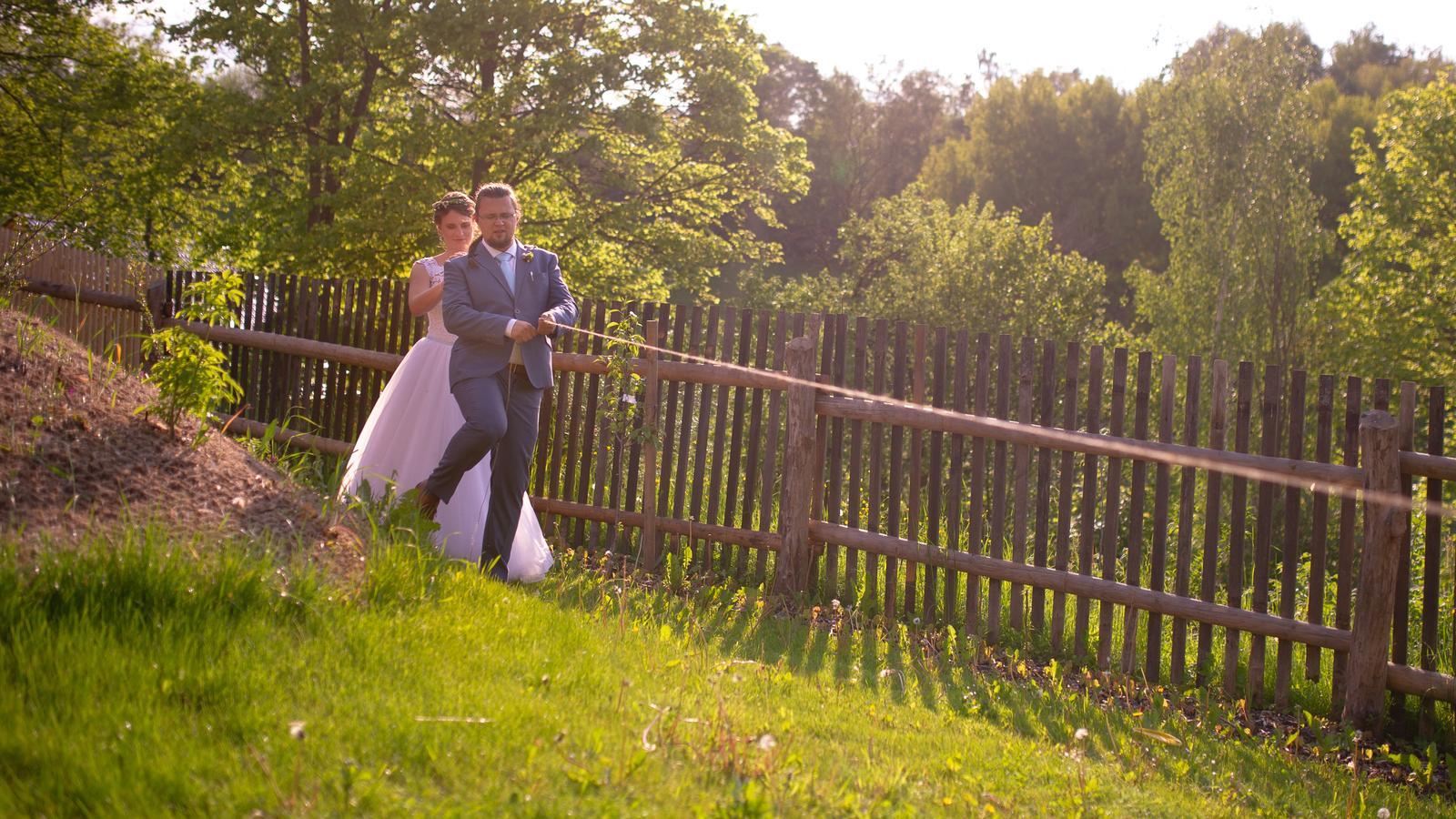 Kačka{{_AND_}}Kubík - jeden z úkolů naší novomanželské hry