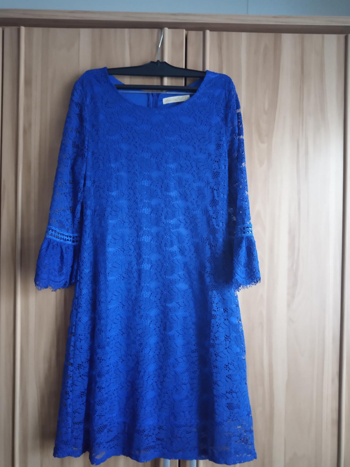 Spoločenské šaty - čipkované - Obrázok č. 1
