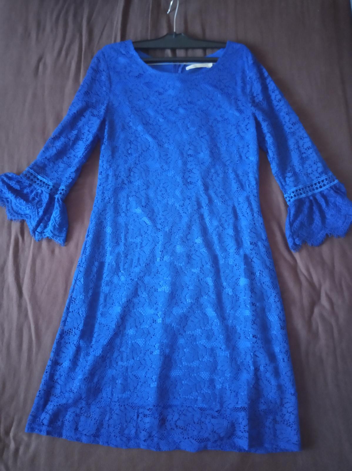 Spoločenské šaty - čipkované - Obrázok č. 2