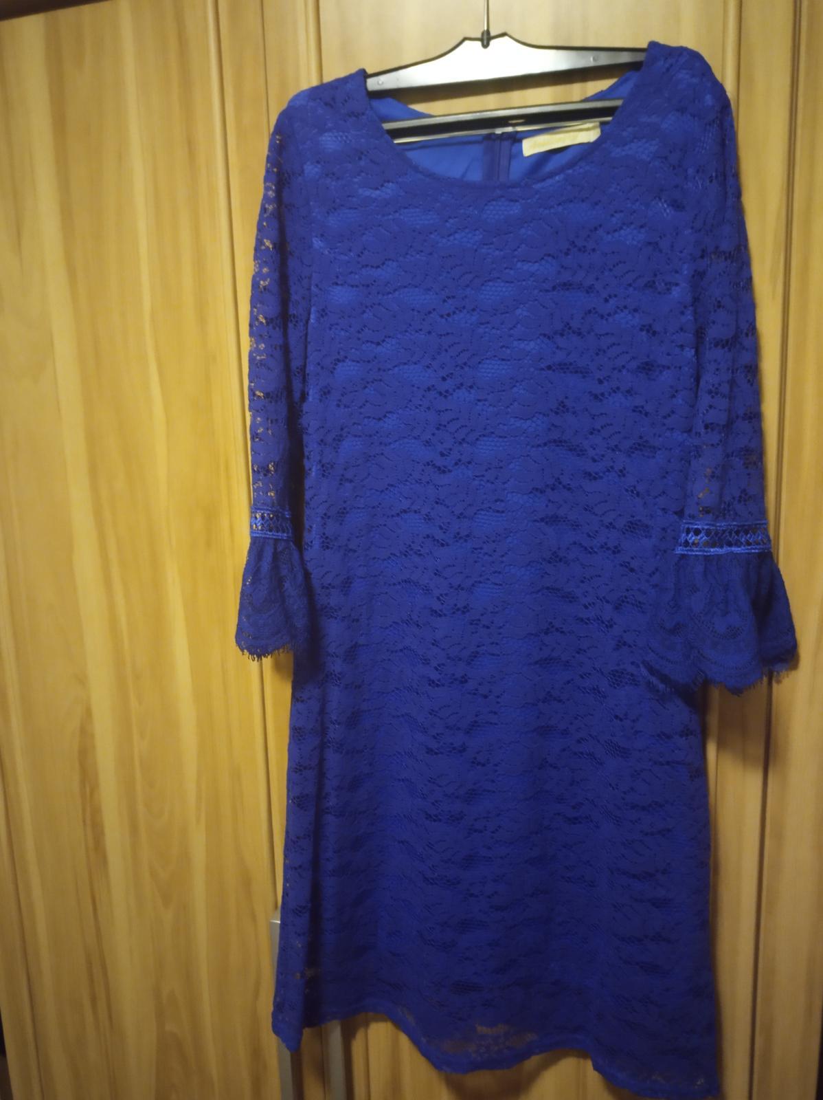 Spoločenské šaty - čipkované - Obrázok č. 3