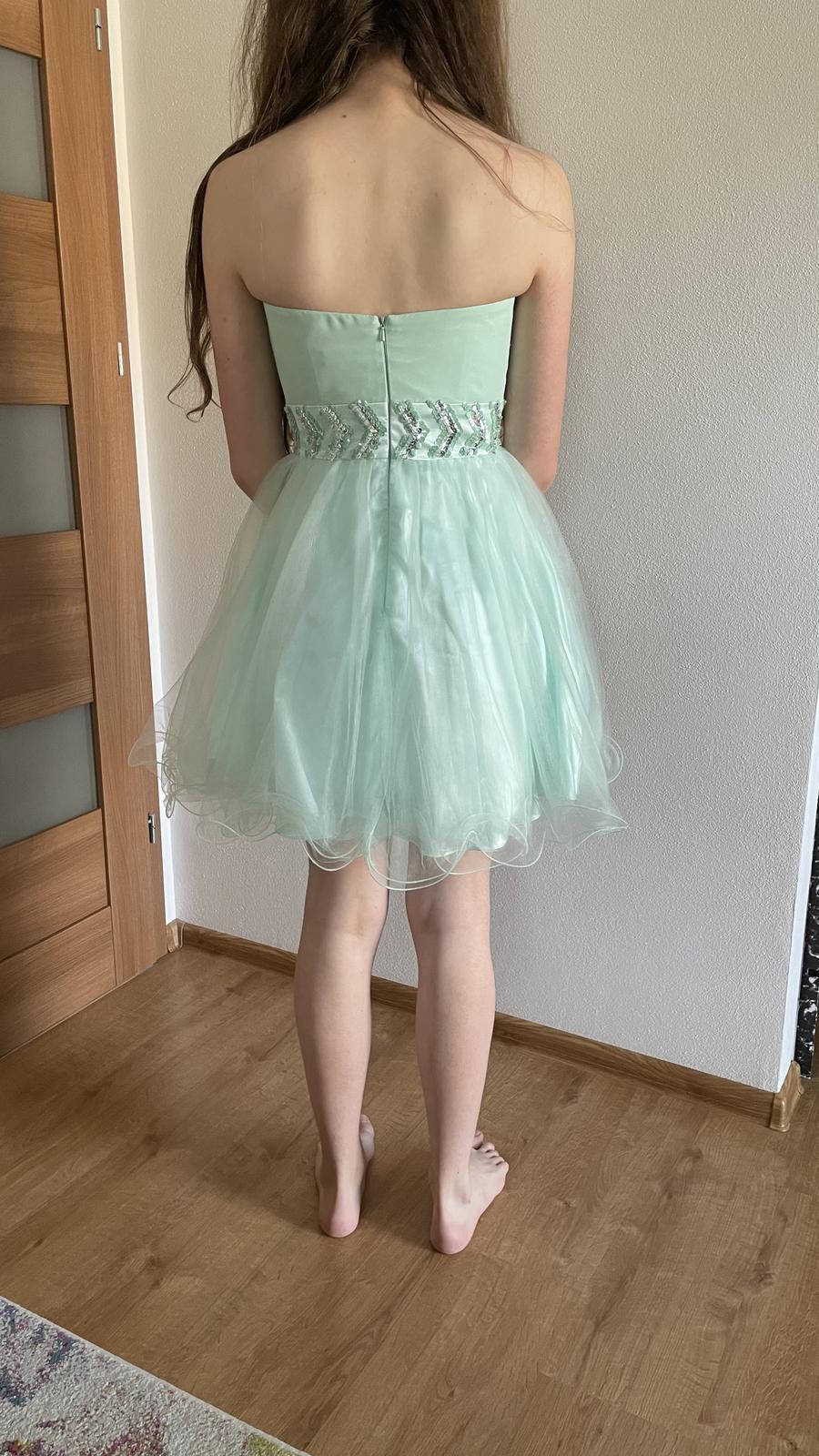 Spoločenské šaty v. 36 - Obrázok č. 2