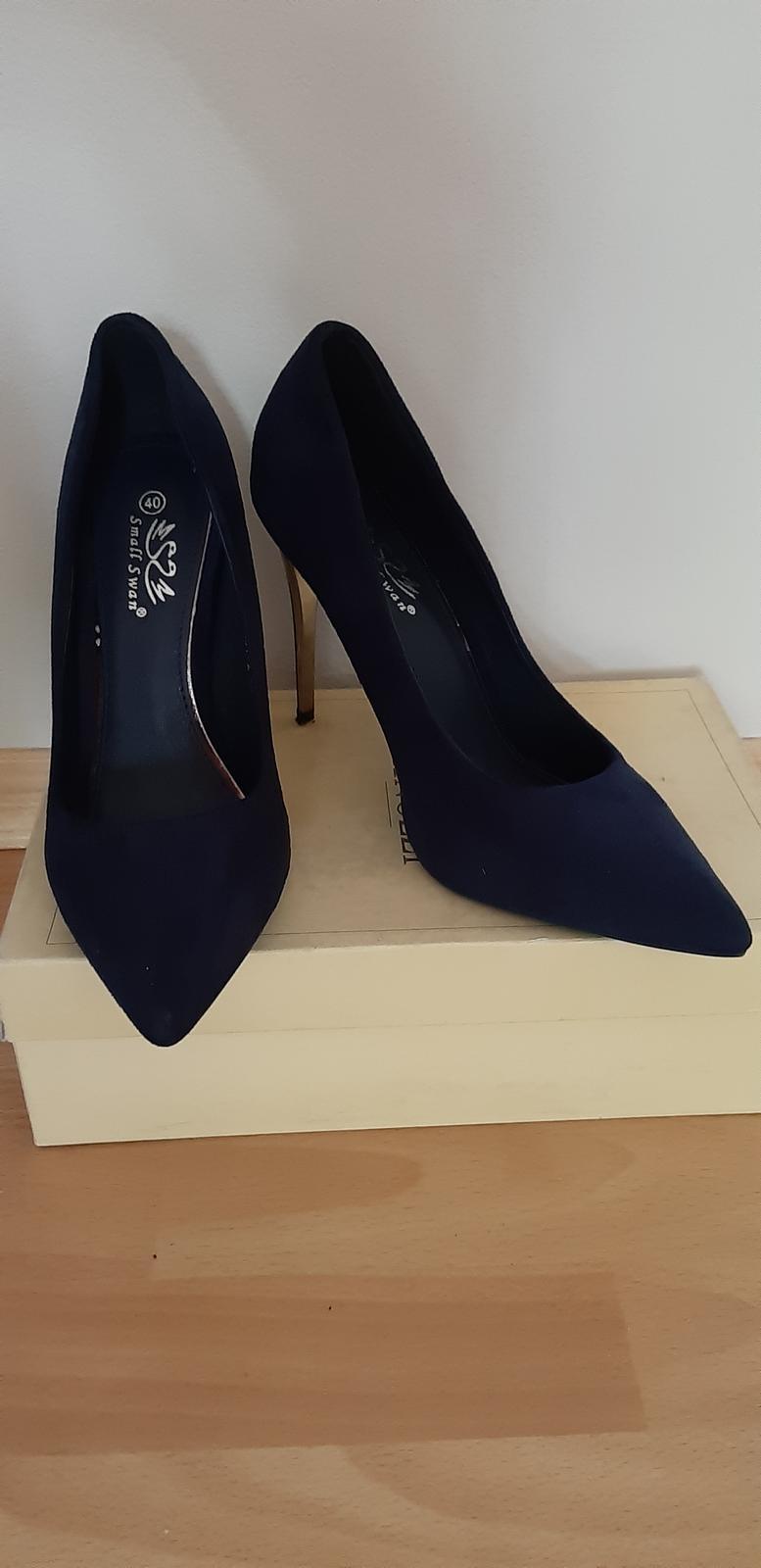 Spoločenské topánky zn. Small Swan - Obrázok č. 1