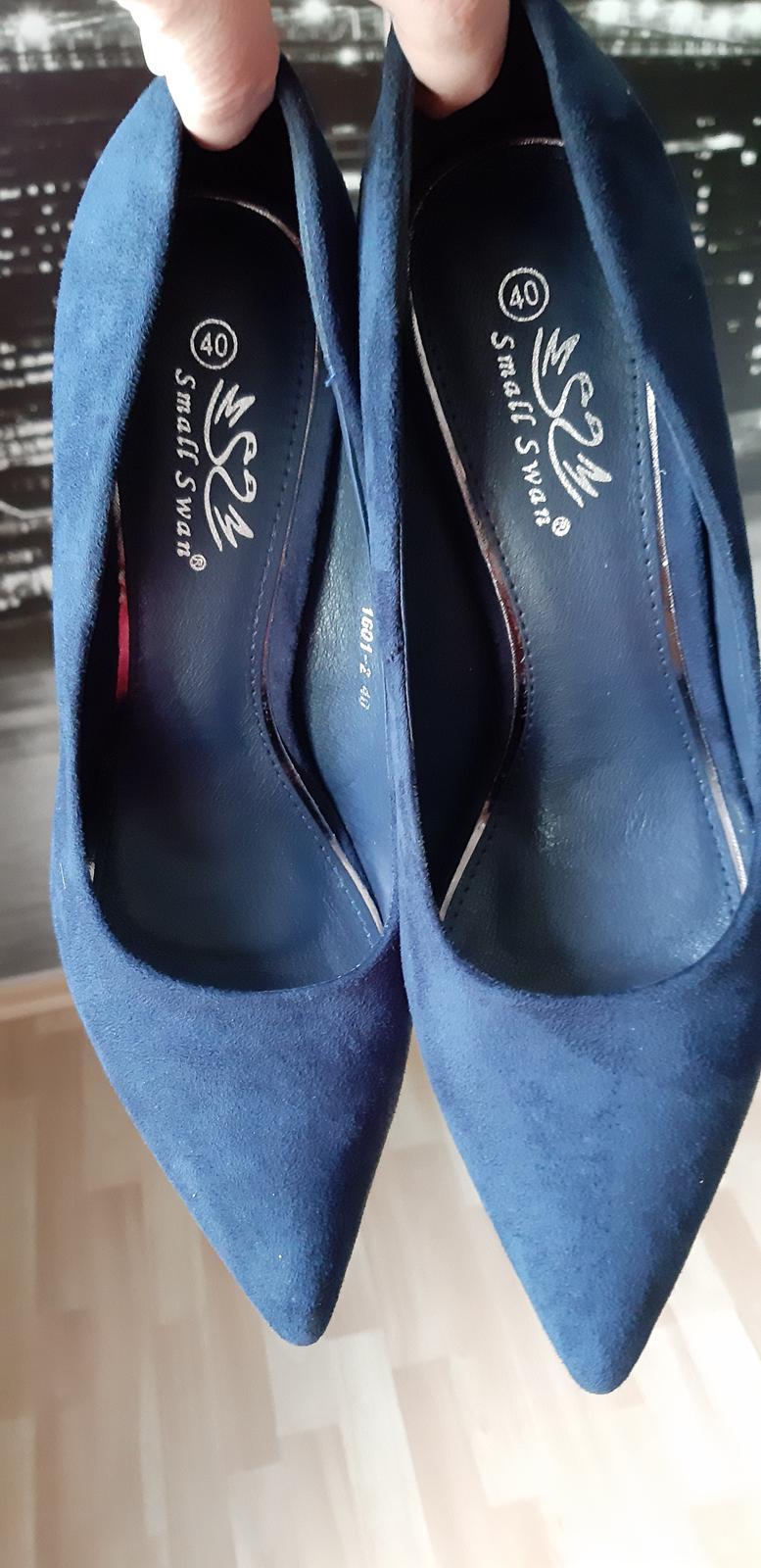 Spoločenské topánky zn. Small Swan - Obrázok č. 2