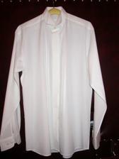 druhá svadobná košeľa...