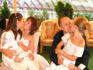 ja+dcérka Rebeka,Rudko+krstná dcérka Saskia