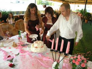 svadobná torta,bola famózna,mňam