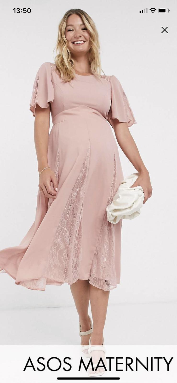 spoločenské šaty pre tehotná - Obrázok č. 1