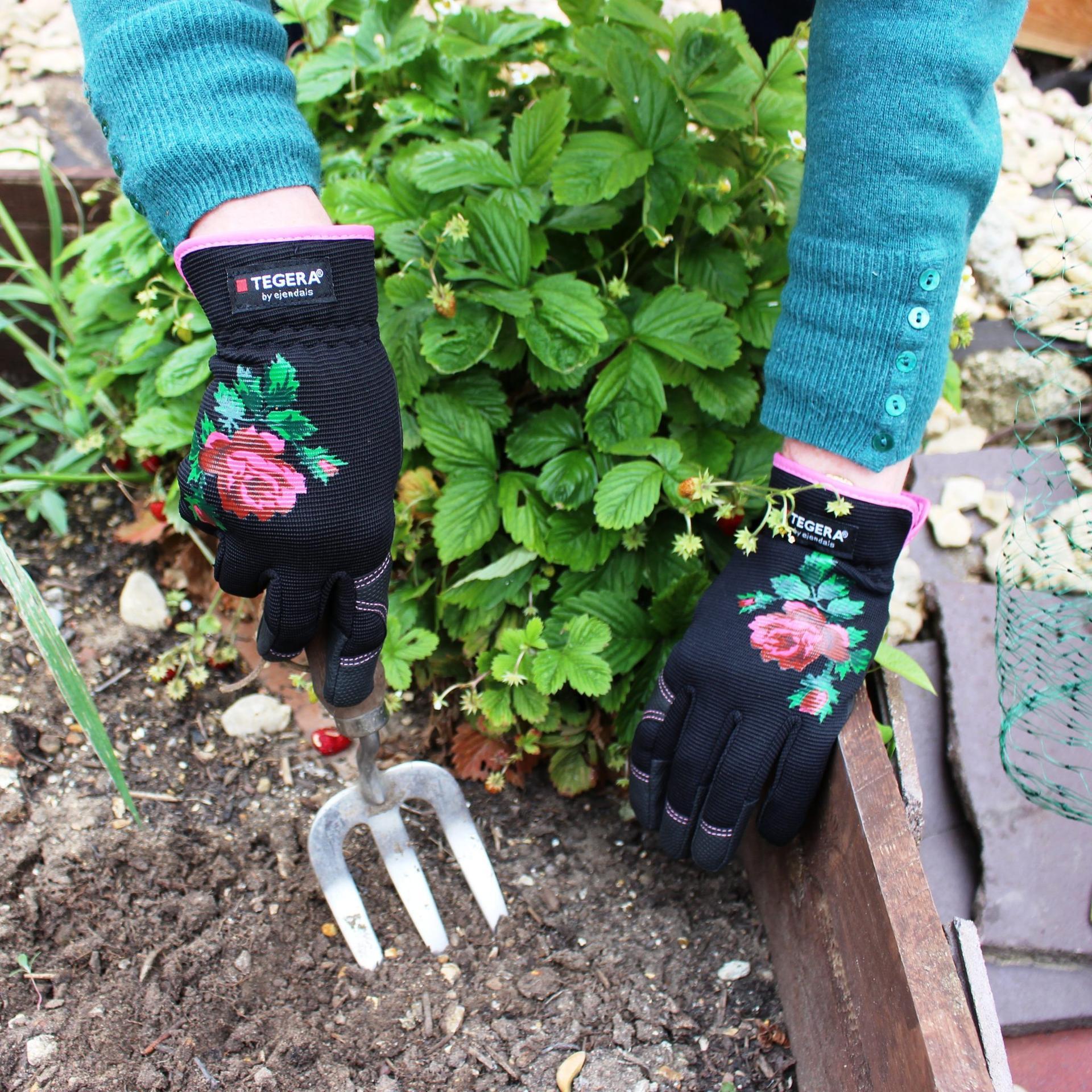 Tegera rukavice do záhrady - Rukavice zo syntetickej kože Tegera® 90030, z jarnej kolekcie Tällberg