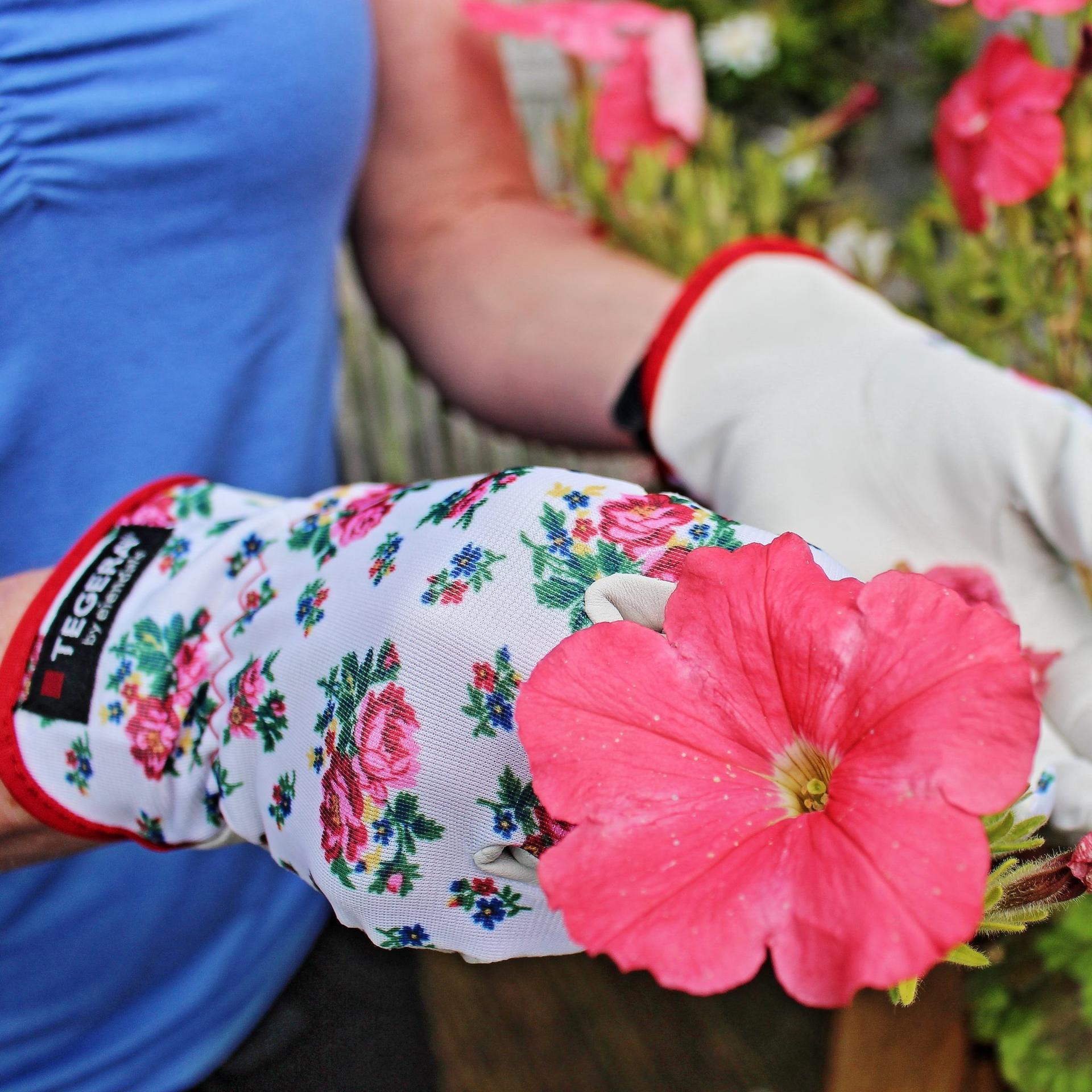 Tegera rukavice do záhrady - Rukavice zo syntetickej kože Tegera® 90014, z jarnej kolekcie Tällberg