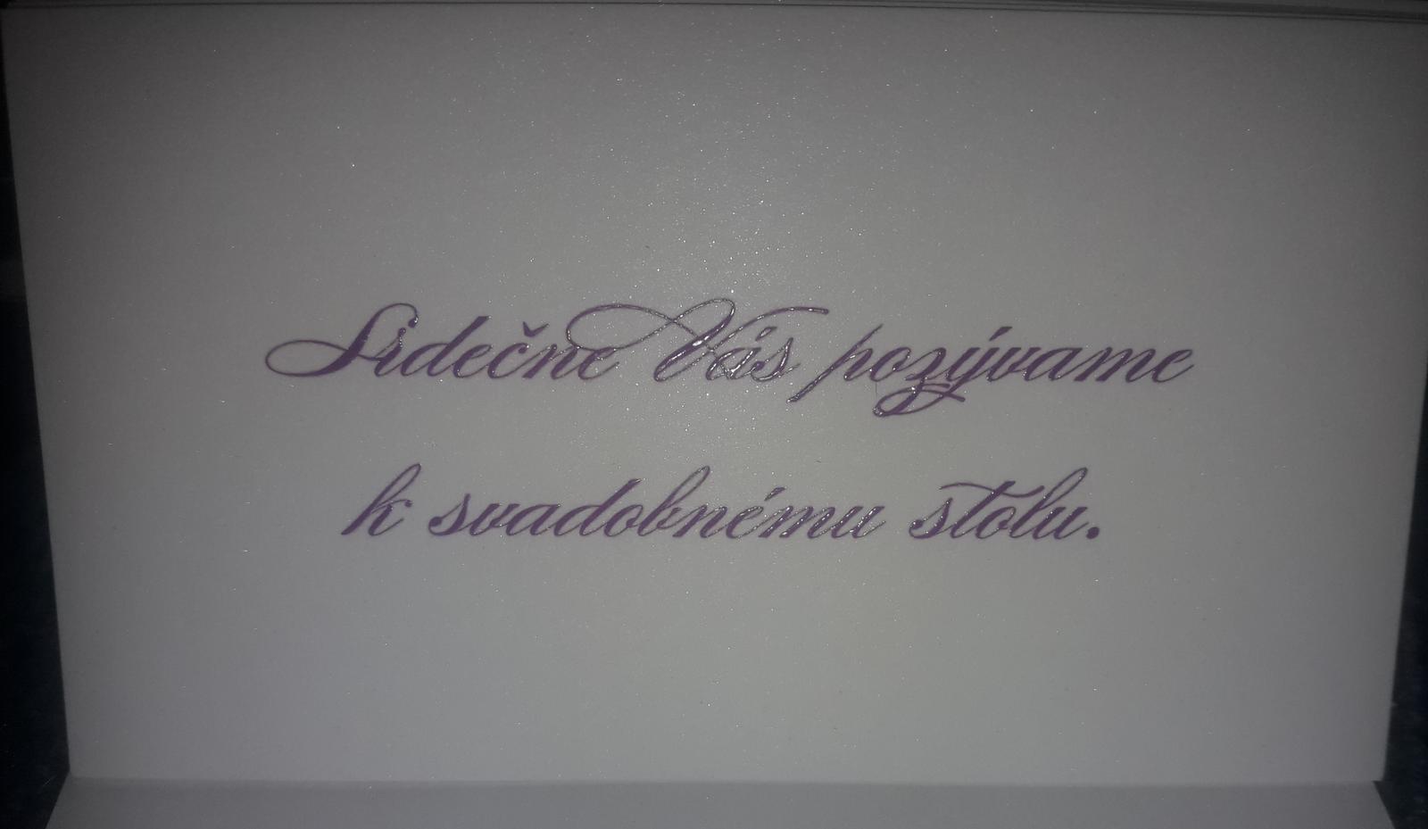 pozvánky k svadobnému stolu - Obrázok č. 1