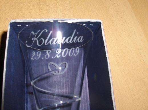 Naša svadba...29.8.2009 - detail písma