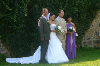 s rodiči nevěsty