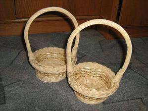 košíčky pro družičky (domácí výroba skorotchána)