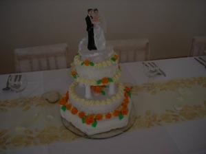 Svatební dort od mojí maminky