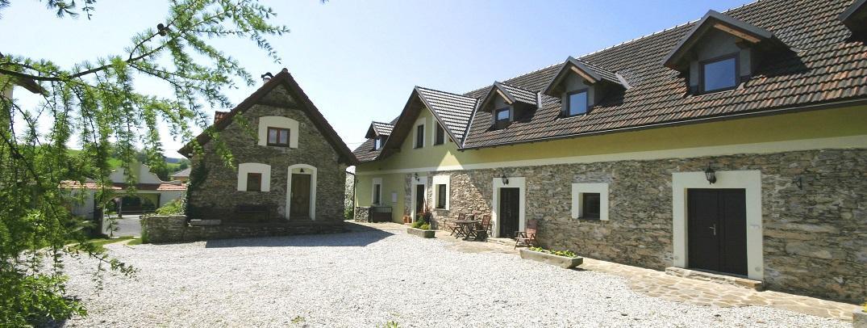 Svatební místa Jižní Čechy - Statek Újezd u Plánice, okres Klatovy