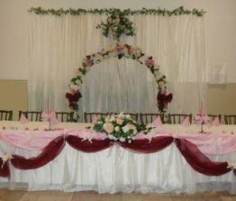 Takto si predstavujem vyzdobenú svadobnú tabuľu