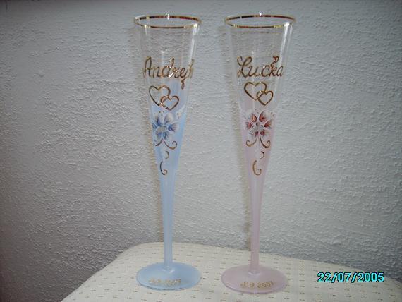 Lucka & Andrej - Svadobné poháre nám robili v Kalinove (okres Poltár)