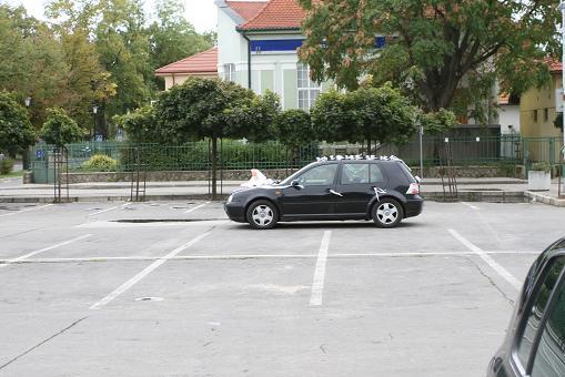 Lucka & Andrej - Naše svadobné autíčko