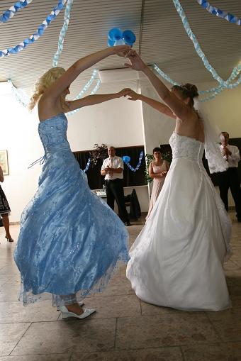 Ja a moja sestra Kristínka